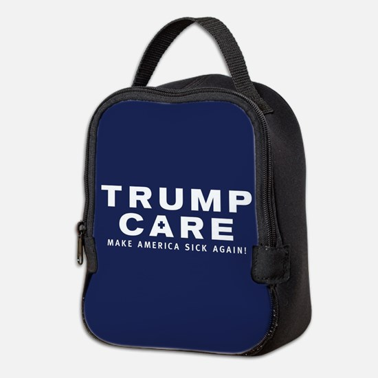 TrumpCare Make America Sick Aga Neoprene Lunch Bag