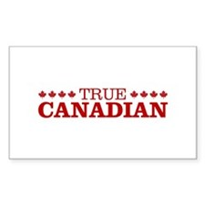 """""""True Canadian"""" Bumper Stickers"""