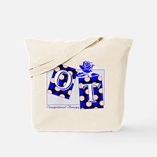 ot puzzle aqua Tote Bag