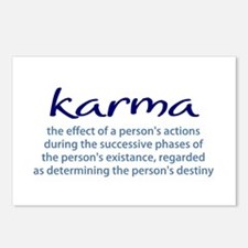 Karma Postcards (Package of 8)