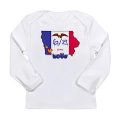ILY Iowa Long Sleeve Infant T-Shirt