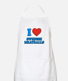 I Love Swedish Meatballs Apron