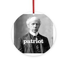 """Laurier - Patriot"" Ornament (Round)"