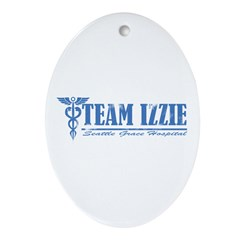 Team Izzie SGH Ornament (Oval)
