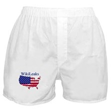 WikiLeaks America Boxer Shorts