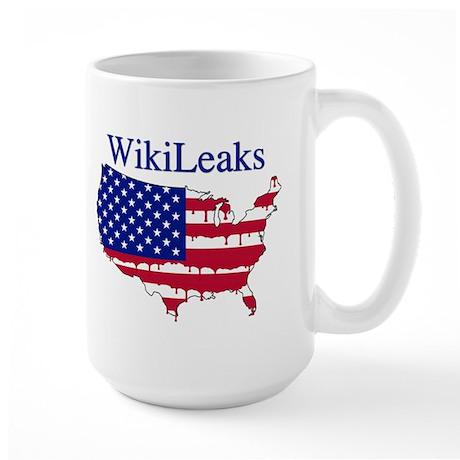 WikiLeaks America Large Mug