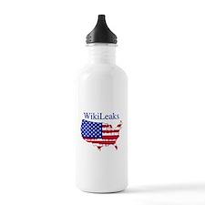 WikiLeaks America Water Bottle