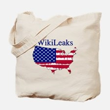WikiLeaks America Tote Bag