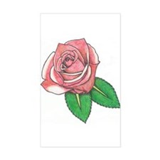 Rose Tat Decal