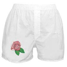 Rose Tat Boxer Shorts