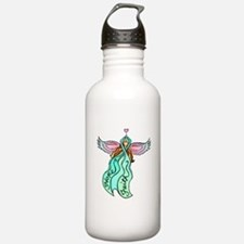 Teal Angel Sports Water Bottle