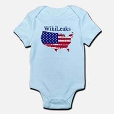 WikiLeaks America Infant Bodysuit