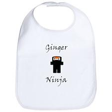 Ginger Ninja Bib