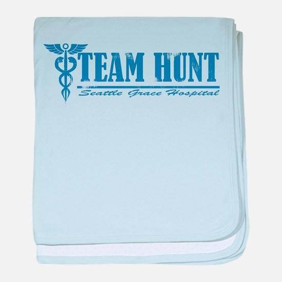 Team Hunt SGH baby blanket