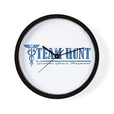 Team Hunt SGH Wall Clock