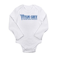 Team Grey SGH Long Sleeve Infant Bodysuit