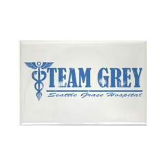 Team Grey SGH Rectangle Magnet