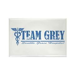 Team Grey SGH Rectangle Magnet
