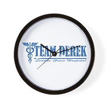 Team Derek SGH Wall Clock