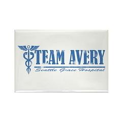 Team Avery SGH Rectangle Magnet