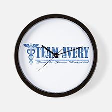 Team Avery SGH Wall Clock