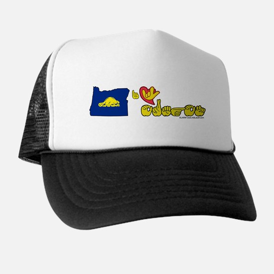 ILY Oregon Trucker Hat