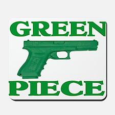 GREEN PIECE Mousepad
