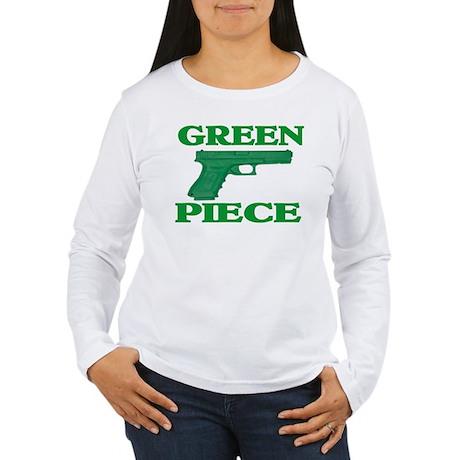 GREEN PIECE Women's Long Sleeve T-Shirt