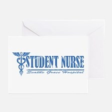 Student Nurse SGH Greeting Cards (Pk of 10)