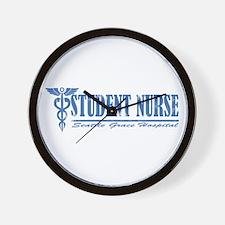 Student Nurse SGH Wall Clock