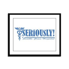 Seriously! SGH Framed Panel Print