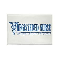 Registered Nurse SGH Rectangle Magnet