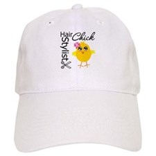 Hair Stylist Chick Baseball Cap