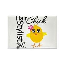 Hair Stylist Chick Rectangle Magnet
