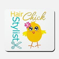 Hair Stylist Chick v2 Mousepad