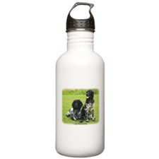 Large Munsterlander 9W020D-139 Sports Water Bottle