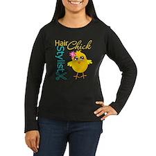 Hair Stylist Chick v2 T-Shirt