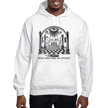 Hooded Sweatshirt(3rd degree w/freemason back)