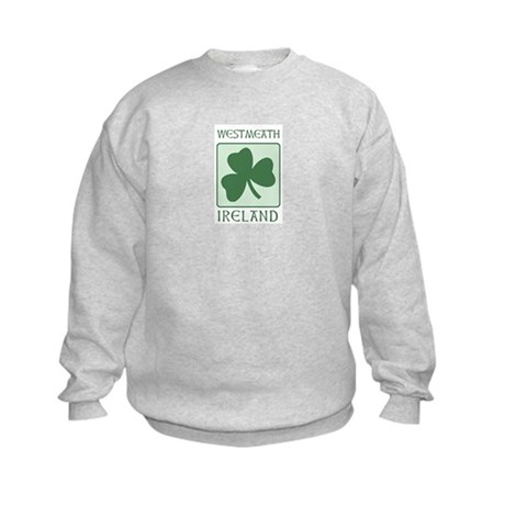 Westmeath, Ireland Kids Sweatshirt
