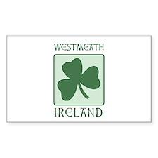 Westmeath, Ireland Rectangle Decal