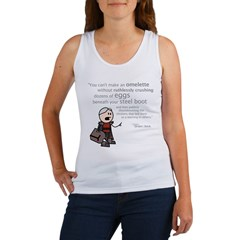 Tarquin: Can't make an omelette... Women's Tank To