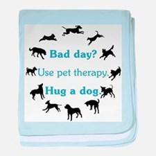 Pet Therapy baby blanket