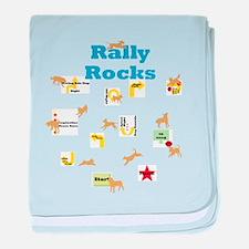 Rally 4 baby blanket