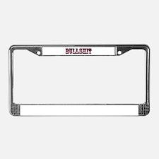 Bullshit License Plate Frame
