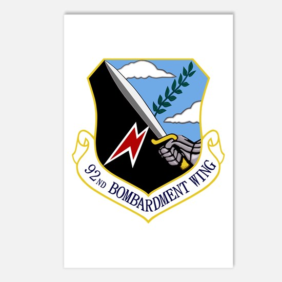 92nd Bomb Wing Postcards (Package of 8)