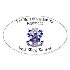 1st Bn 16th Infantry Decal