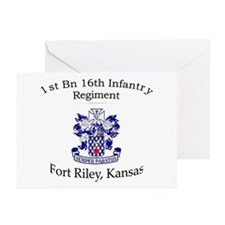 1st Bn 16th Infantry Greeting Cards (Pk of 10)
