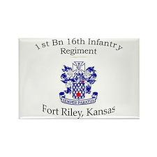 1st Bn 16th Infantry Rectangle Magnet
