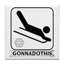GONNADOTHIS.COM-Sledding- Tile Coaster