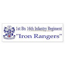 1st Bn 16th Infantry Bumper Sticker